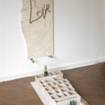 1 Love, 2012  installation view 140 x 120 x 44cm