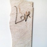 1a  Love, 2012, installation view, detail, photo KM
