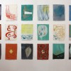 21 Installation of 18 Watercolors, 2008. 38cm x 28cm Each